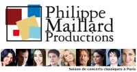 Productions Philippe Maillard : 63 concerts pour la saison 17/18