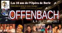 Création française d'un opéra d'Offenbach à Barie
