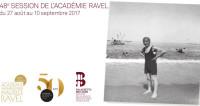 48e Session de l'Académie Ravel à Saint-Jean-de-Luz