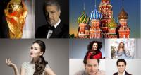 Les stars de l'opéra chantent pour la Coupe du Monde en Russie