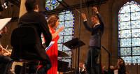 Mélodie française orchestrale à Royaumont avec Marion Lebègue