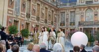 Les Arts Florissants de Marc-Antoine Charpentier dans la Cour de Marbre au Château de Versailles