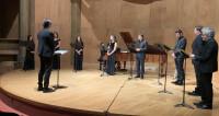 Valses amoureuses de Brahms par Les Métaboles Salle Cortot, à huis clos