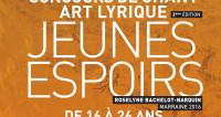 Concours de chant « Jeunes espoirs 2016 » à Avignon