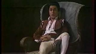 Jose van Dam dans Les Noces de Figaro à l'Opéra National de Paris