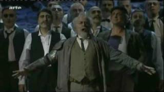 José Van Dam dans Don Quichotte à La Monnaie