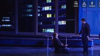 Peter Mattei dans Don Giovanni mis en scène par Haneke