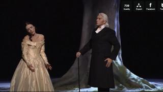 Jaho et Hvorostovsky dans la Traviata mis en scène par Jacquot