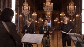 Les 3 Contre-Ténors et le Concours de Virtuosité des Castrats dans la Galerie des Glaces du Château de Versailles