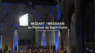 Mozart / Messiaen par Renaud Capuçon au Festival de St-Denis (intégrale)