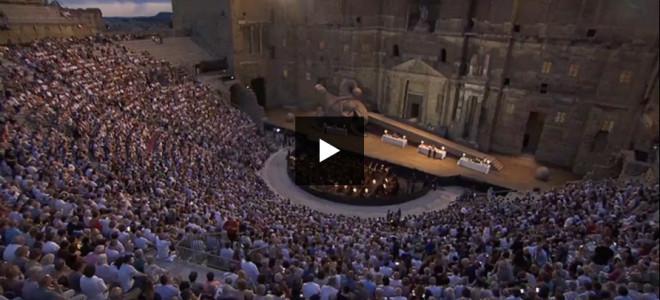 Le triomphe de Rigoletto aux Chorégies d'Orange, retransmis sur France 3