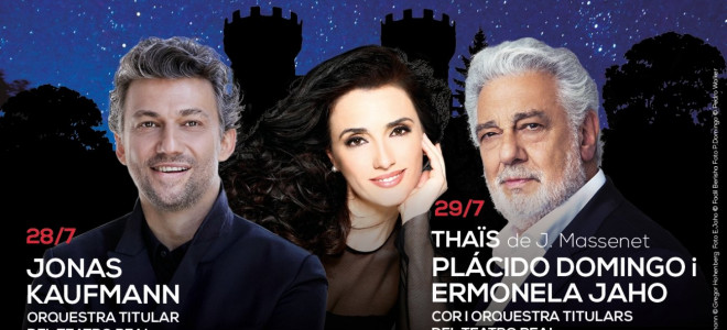 Jonas Kaufmann, Plácido Domingo et Ermonela Jaho à l'affiche du Festival Peralada 2018