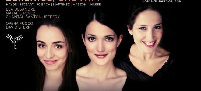 Berenice, che fai ? par Lea Desandre, Natalie Pérez et Chantal Santon Jeffery