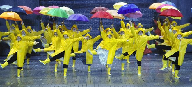 Broadway chante sous la pluie parisienne