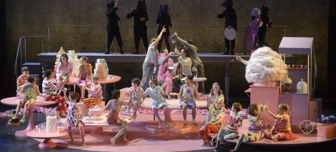 Recette équilibrée pour Hansel et Gretel à l'Opéra National de Lorraine