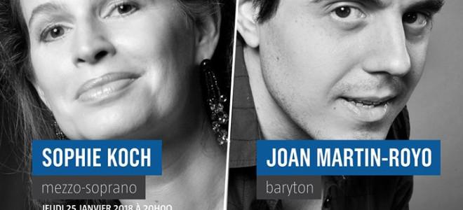 L'Instant lyrique de Sophie Koch et Joan Martín-Royo à L'Éléphant Paname