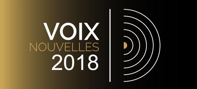 12 candidats en Finale du Concours Voix Nouvelles 2018