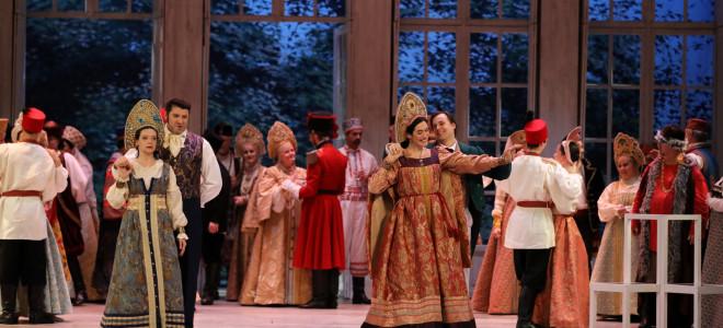 Somptueux Eugène Onéguine à l'Opéra de Metz