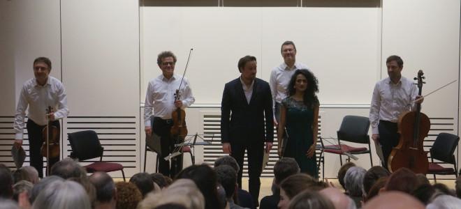 Première réussie pour Music'Ly avec son Duel mozartien par Julien Behr et le Quatuor Debussy