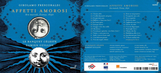 Affetti amorosi, disque d'airs de Frescobaldi par Le Banquet Céleste