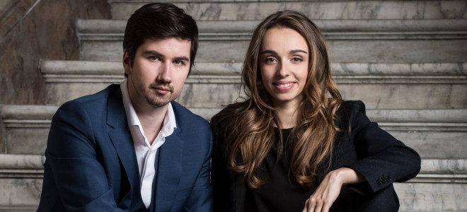 Formidable complicité de Desandre et Dunford dans le baroque italien Salle Cortot