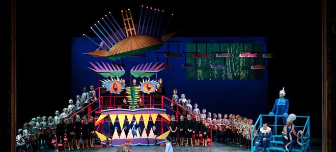 La Légende du Roi Dragon enflamme la jeunesse à l'Opéra de Lille