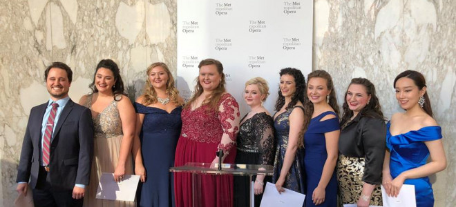Cinq lauréats en 2018 pour le Metropolitan Opera National Council
