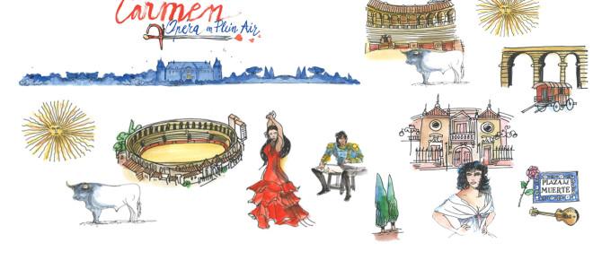 Carmen par Radu Mihaileanu ouvre la nouvelle saison d'Opéra en plein air
