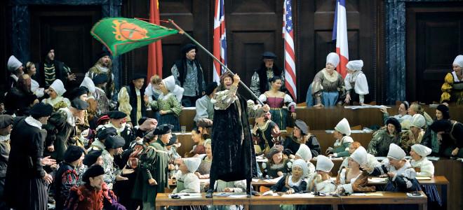Les Maîtres Chanteurs du procès de Nuremberg à Bayreuth