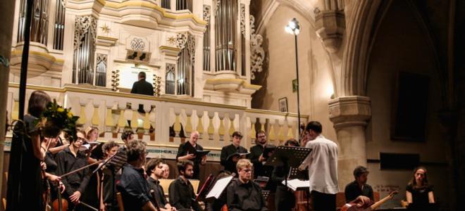 La Passion selon Saint Marc par Le Concert Étranger clôt avec majesté le Festival Bach en Combrailles