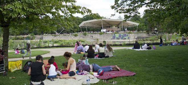 Classique au vert et Amours d'été au Parc Floral