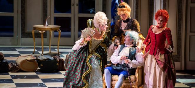 Le Mariage secret à l'Opéra de Liège, survitaminé et complice