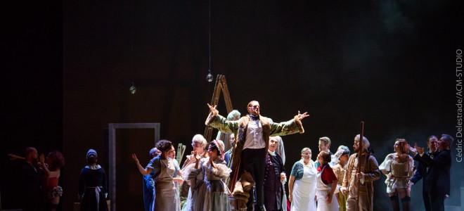 Fraîcheur et esthétisme s'unissent aux Noces de Figaro en Avignon
