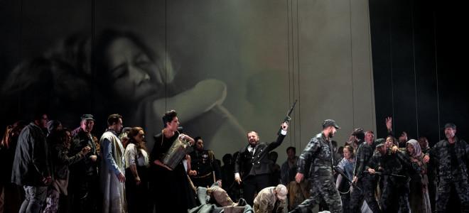 Tumultueux et duel Nabucco à Dijon