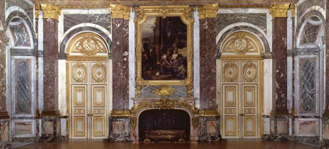 Couperin, noble et distingué dans le Salon d'Hercule à Versailles