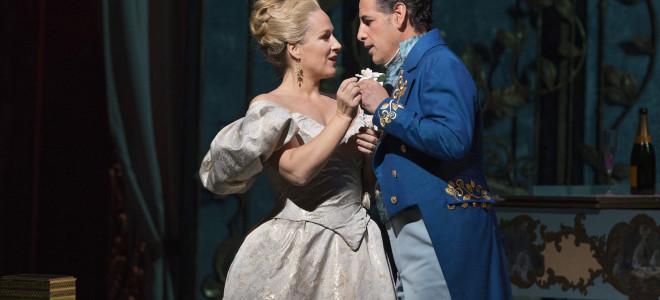 La Traviata de Diana Damrau et Juan Diego Flórez ovationnée en direct du Met