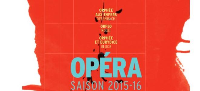 L'Opéra de Lorraine placé sous le signe d'Orphée pour sa saison 15/16