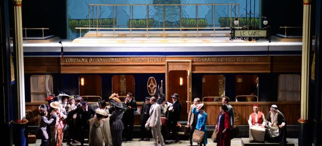 À Monte-Carlo, L'Enlèvement au Sérail en Orient-Express