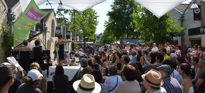 Le Festival Opéra Côté Cour 2015 à Bercy Village