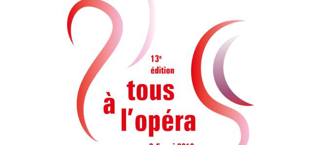 Tous à l'Opéra ! du 3 au 5 mai 2019 dans toute la France