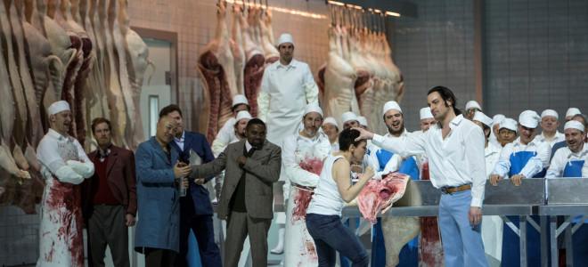 Warlikowski balance ses porcs : Triomphale Lady Macbeth de Mzensk à Bastille