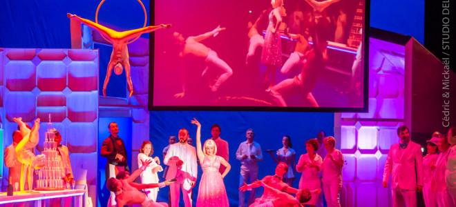 Les Saltimbanques flamboyants à l'Opéra Grand Avignon