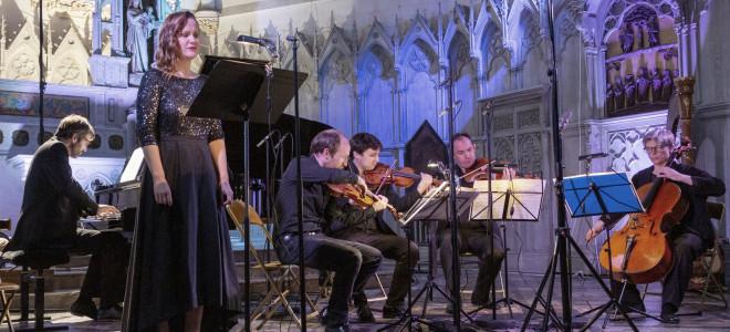 Éléonore Pancrazi et Louise Pingeot littéraires en ouverture du Festival Musica Nigella