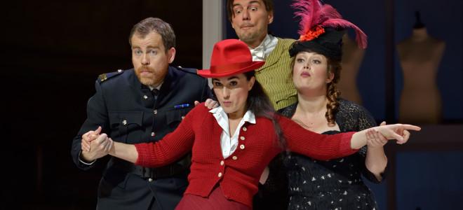 Madame Favart a les faveurs de la salle du Comique