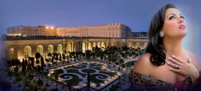 Anna Netrebko en gala le 4 juillet à Versailles !