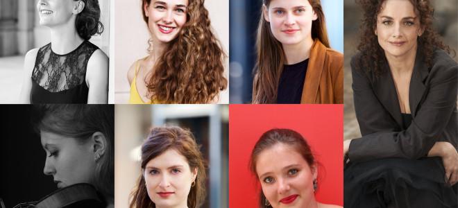 Le Festival Jeunes Talents s'ouvre avec Emmanuelle Haïm, Cécile et Marine Madelin