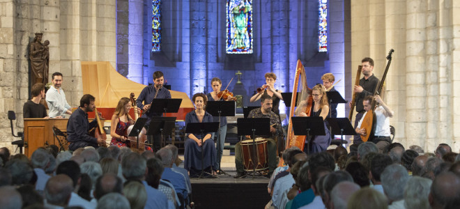 Baroque improvisé avec Chantal Santon-Jeffery et l'Achéron au Festival de Saintes
