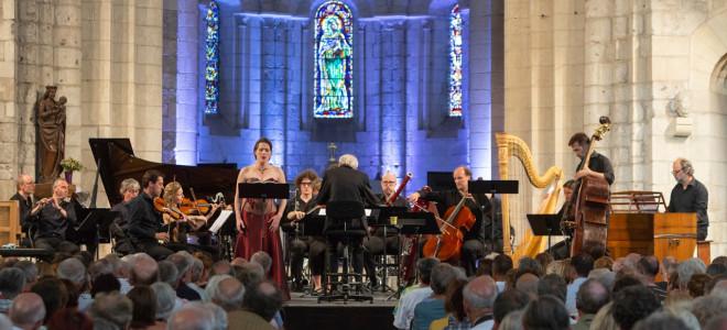 Lucile Richardot prend Le Chant de la Terre de Mahler au Festival de Saintes