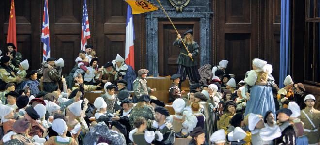 Les Maîtres désenchantés et en chanteurs à Bayreuth