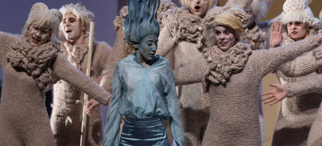 Acis et Galatée, moutons sur la banquise à l'Opéra de Massy